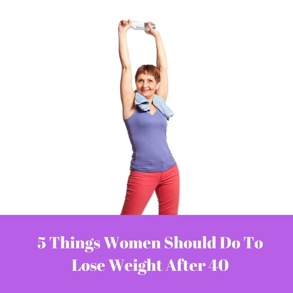 5 Weight Loss Tips for Women Over 40